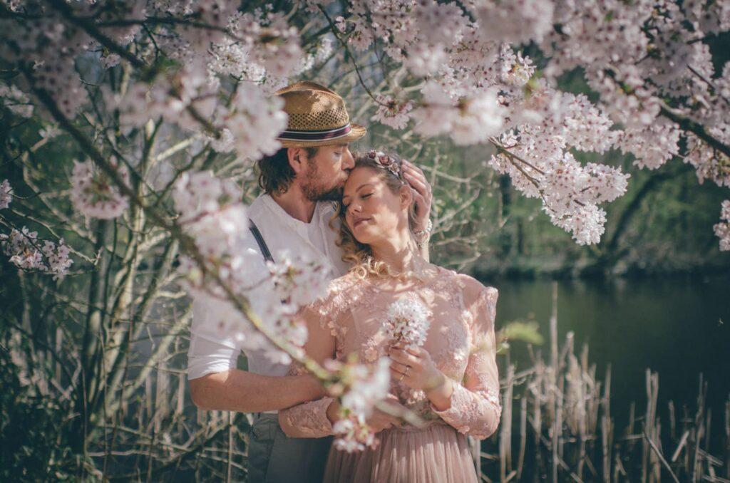 Romantische Hochzeitsfotos in Lübeck