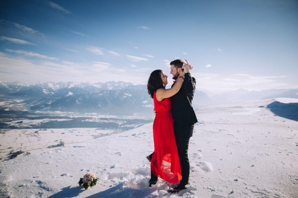Romantische Verlobungs Fotoshooting in der Schweiz