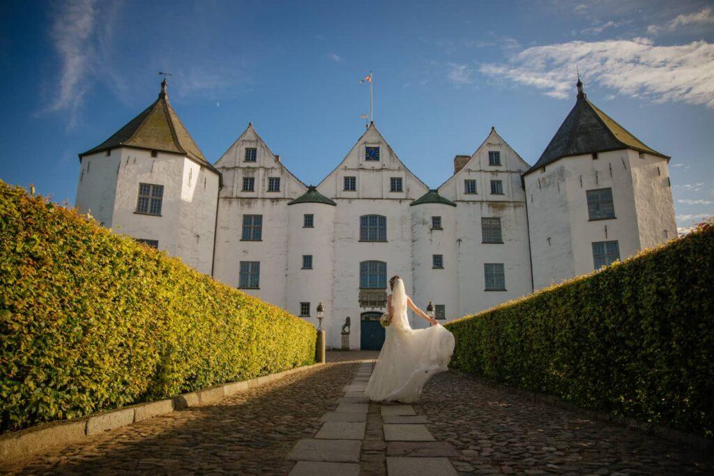 Schoene Braut Schloss Glücksburg