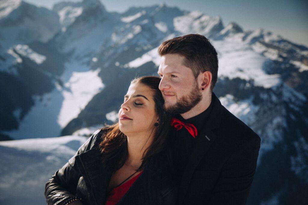 St Gallen Paar Fotoshooting
