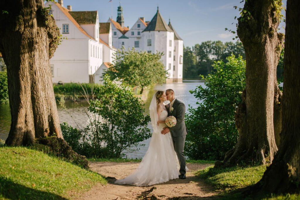 Traum Hochzeit Schloss Glücksburg