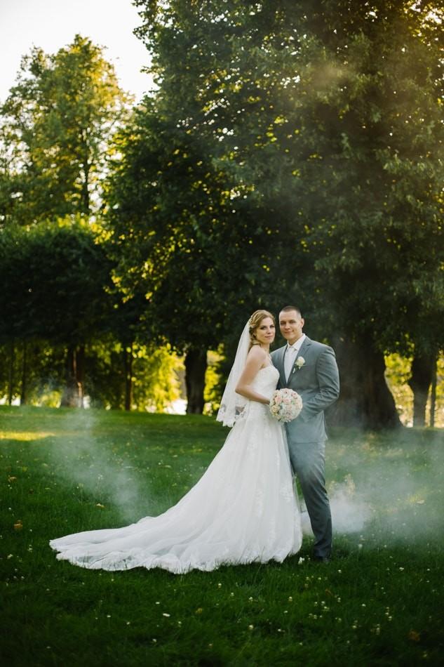 Traum Hochzeitfotografie Schloss Glücksburg