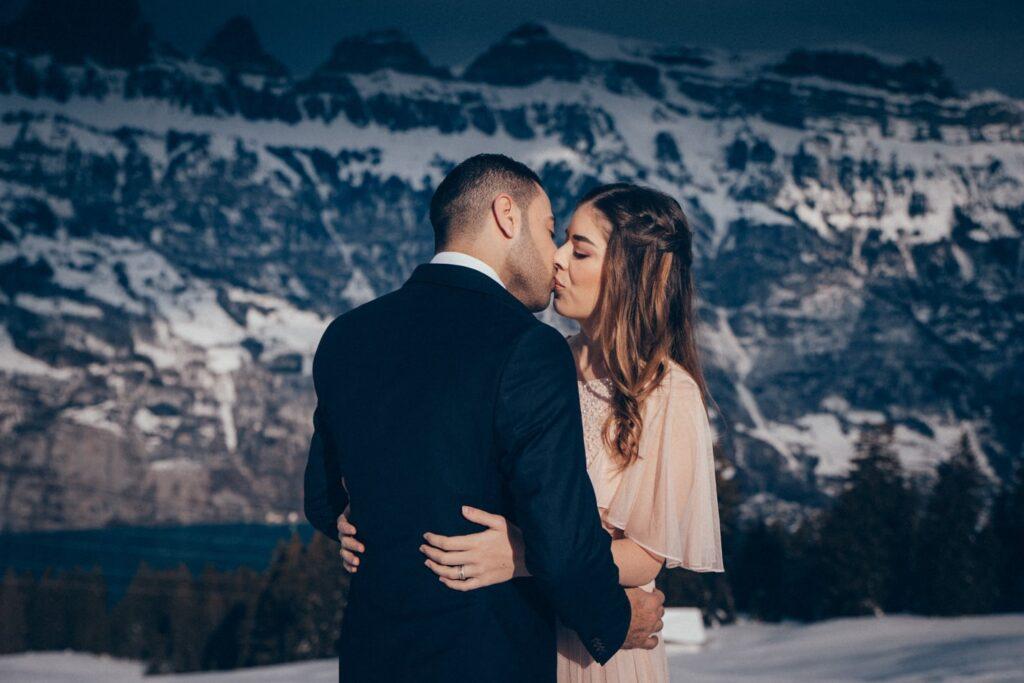 Verlobung Shooting in der Schweiz