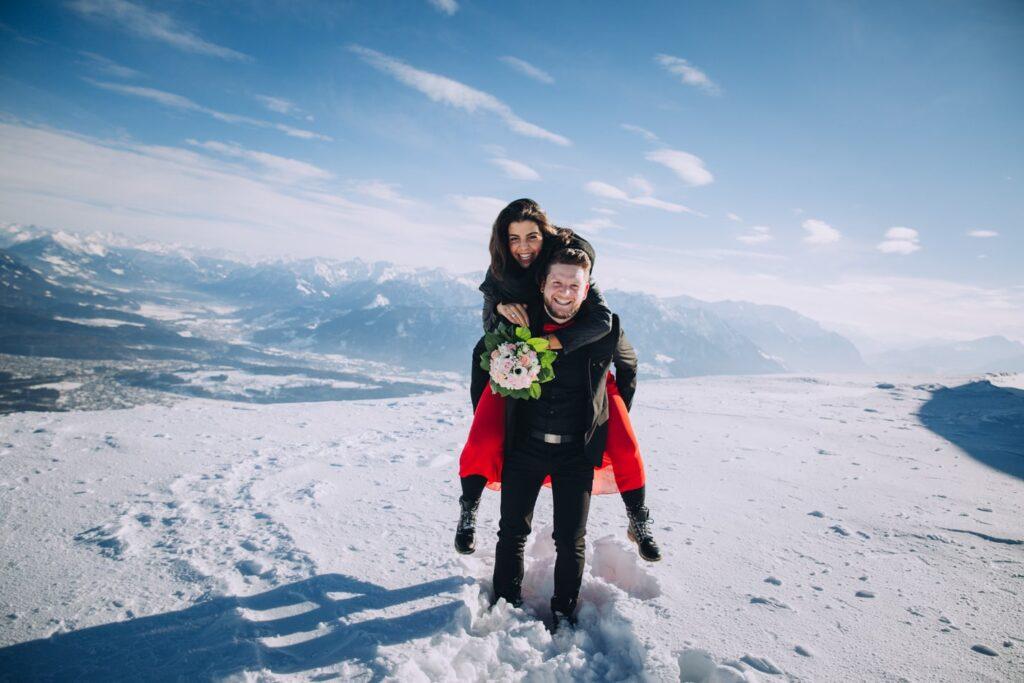 Verlobungsfotoshooting in der Schweiz