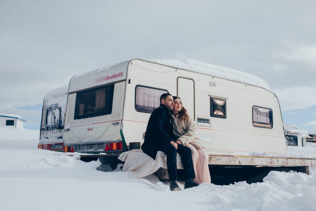 Winter Hochzeit in der Schweiz