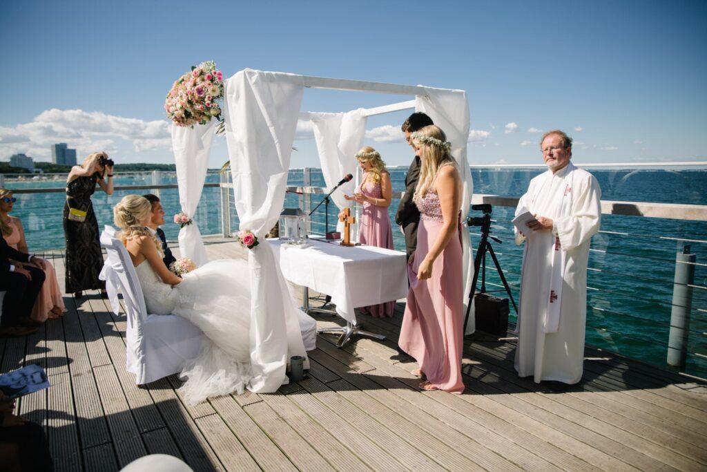 Wunderschöne Hochzeit im Wolkenlos