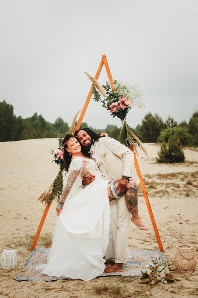 Boho Hochzeitsfotografie
