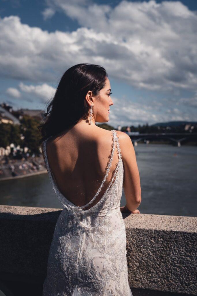 Brautshooting in Basel, Schweiz