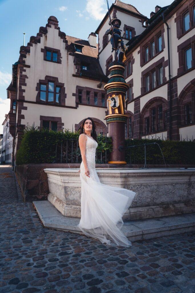 Kreative Hochzeitsfotografie in Basel, Schweiz