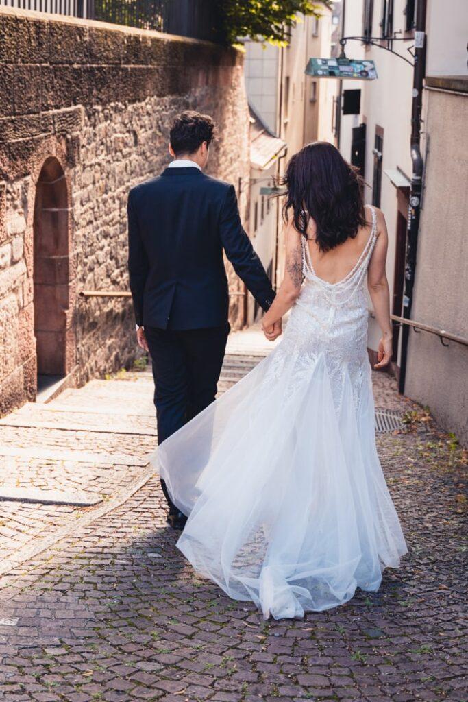 Natürliche und ungestellte Hochzeitsfotografie in Basel, Schweiz